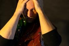 David Paterson as Hamlet