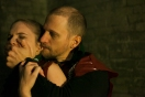 Jane Schon (Ophelia) and David Paterson (Hamlet)