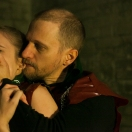 Jane Schon (Ophelia) and David Paterson (Hamlet)